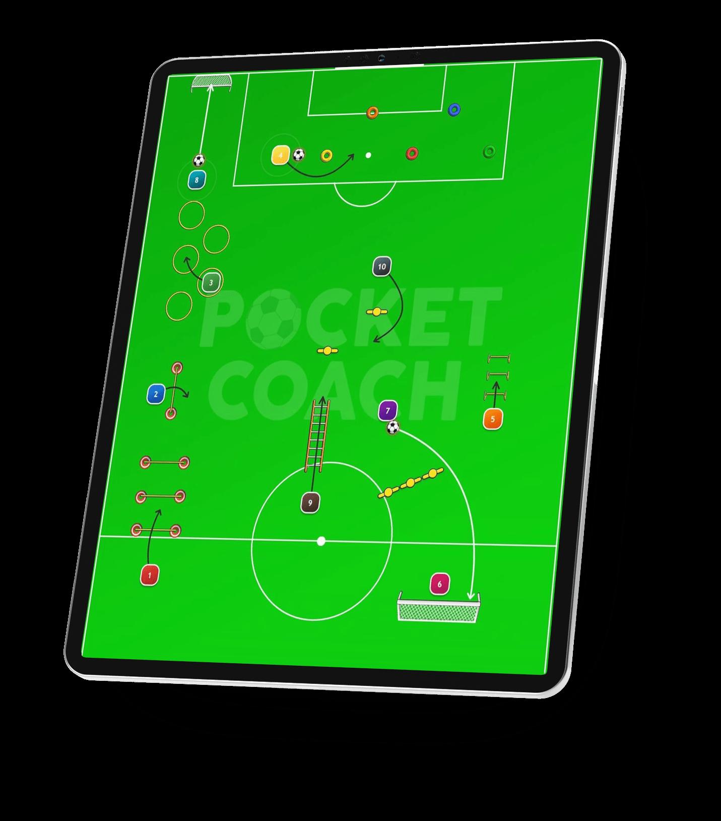 Pocket Coach tactical board